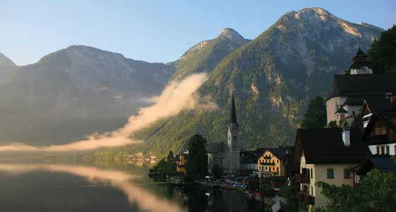 Self-Guided Walking Holidays in Austrian Lake District and Dachstein Alps