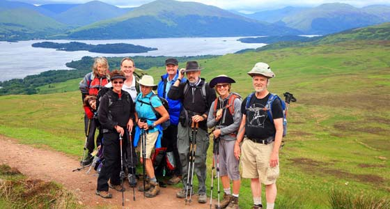 Self Guided West Highland Way Walking Holidays