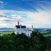 The fairytale view of Neuschwanstein Castle in Bavaria   Skeeze