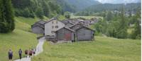 Walk through villages on the Mont Blanc walk |  <i>Erin Williams</i>