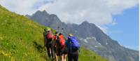 On the trail in the Mont Blanc region |  <i>Erin Williams</i>