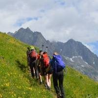 On the trail in the Mont Blanc region   Erin Williams