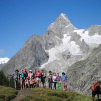 Group photo on the Tour du Mont Blanc | Ryan Graham