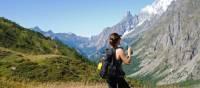 Enjoying views of the Val Ferret | Ryan Graham