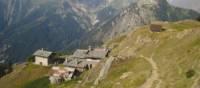 Leaving Berthone Refuge, Around Mont Blanc | Rezharco Doria