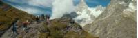 The circuit around Mont Blanc is one of the world's great hikes |  <i>Tim Charody</i>