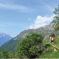 Trekking mountain side trails as we explore the Alps   Erin Williams