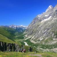 The epitome of walking in the European Alps   John Millen