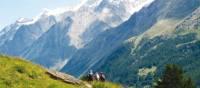 Hikers in the Zermatt Valley, Switzerland | Sarah Higgins