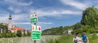 Cycling towards Salzburg from Innsbruck