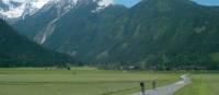 Riding near the Austrian Alps