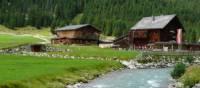 Summer houses in Krimml