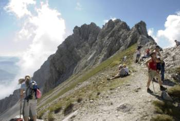 Trekkers in the Trans Tyrol&#160;-&#160;<i>Photo:&#160;Helmut Wagner</i>
