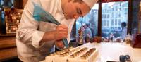 Chocolate making is an art in Belgium