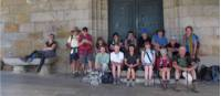Walking group on the Camino, Spain |  <i>Andreas Holland</i>