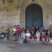 Walking group on the Camino, Spain | Andreas Holland