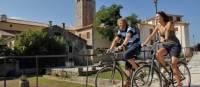 cycling in Motovun, Croatia