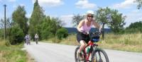 Cycling quiet roads from Prague to Vienna