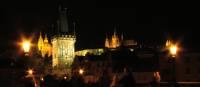 Charles Bridge by night, Prague. | Vndthinant Trongchittham
