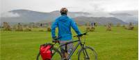 Castlerigg cyclist taking it all in |  <i>Andrew Bain</i>