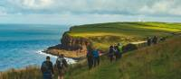 Beginning the Coast to Coast walk along the green cliffs of England | Tim Charody