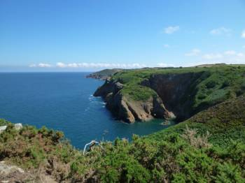 Jerseys dramatic coastline