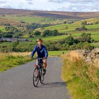 Cycling in Rookhope along the Coast to Coast in England | Andrew Bain