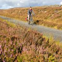The open roads of Waskerley Way along the Coast to Coast cycle | Andrew Bain