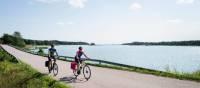 Quiet coastal roads on the Finnish Archipelago of Turku