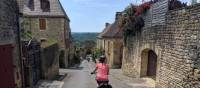 Cycling in the village of Domme | Rob Mills