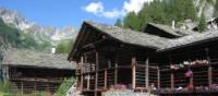 Enjoy a delightful alpine setting on the Tour de Monte Rosa