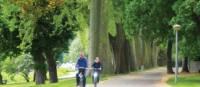 Cycling through the verdant Koblenz | Sue Finn