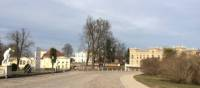 The lakeside town of Neustrelitz, visited on the Berlin to Copenhagen cycle trip | Kate Baker