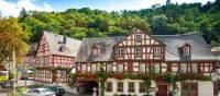 Hotel in Braubach on Rhine River Castles Walk