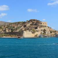 The stunning coastline of Crete Island features fine sandy beaches and tranquil blue water