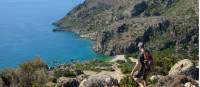 Descending to Lissos Beach in Crete |  <i>Jaclyn Lofts</i>