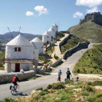Thanks to your boat you can cycle even more of the Greek Islands