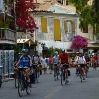 Cycling in Corfu