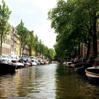 Views down the beautiful canals in Amsterdam   Nick Kostos
