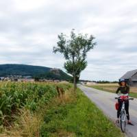 Cycling near the Slovak border, following the Danube River   Lilly Donkers
