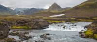 Experience the natural beauty of the Laugavegur Trail in Iceland
