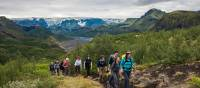 Experience the dramatic landscapes and natural beauty of the Laugavegur Trail in Iceland