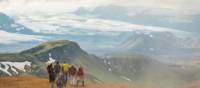 Cross the third largest geothermal zone in the world on the Laugavegur Trail in Iceland