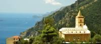 Church on the intriguing Amalfi coast, Italy | Sue Badyari