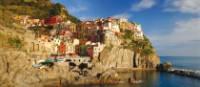 The stunning Cinque Terre coastline
