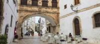 The old town citadel , Ostuni, Puglia, Italy. | Lesley Treloar
