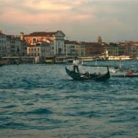Gondola on Grand Canal in Venice | Kate Baker