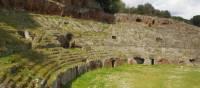Roman amphitheatre near Sutri on the Via Francigena | Brad Atwal