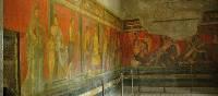 Preserved frescoes in Pompeii | Sue Badyari