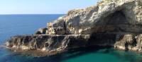 Grotto Diavolo where the Ionian Sea meets the Adriatic | Kate Baker